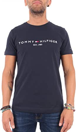 Tommy Hilfiger Core Tommy Logo tee Camiseta para Hombre