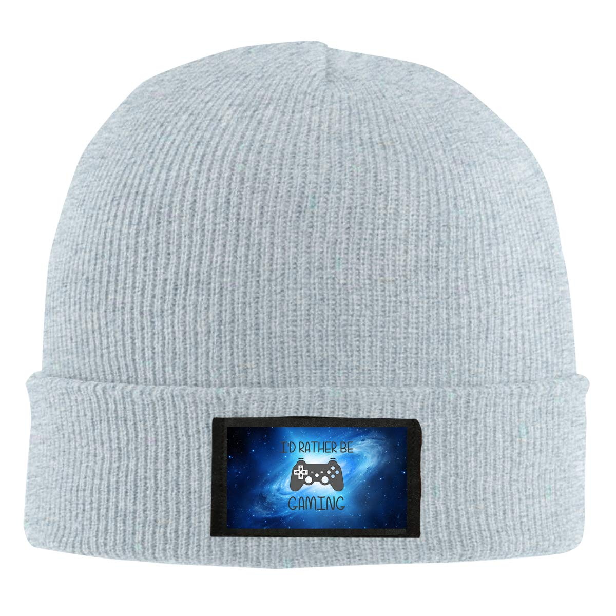 Id Rather Be Playing Video Games Winter Beanie Hat Knit Hat Cap for Men /& Women