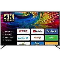 تلفزيون ذكي 50 بوصة من امبيكس، شاشة ليد الترا اتش دي 4 كيه - غلوريا 50