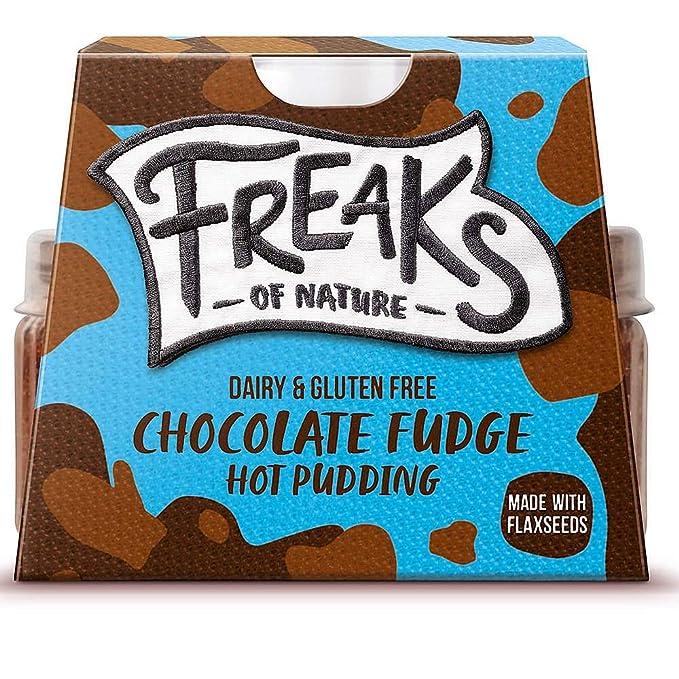 Freaks of Nature Coulant de Chocolate Tarta Vegano Postre Fudge Cremoso Pudin 100g | Vegano |
