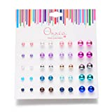 Amazon Price History for:Onnea Multi Pairs Disc Ball Earrings Set for Girls, Hypoallergenic