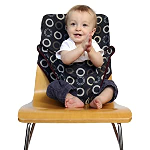 Totseat Washable Squashable Highchair - Coffee Bean
