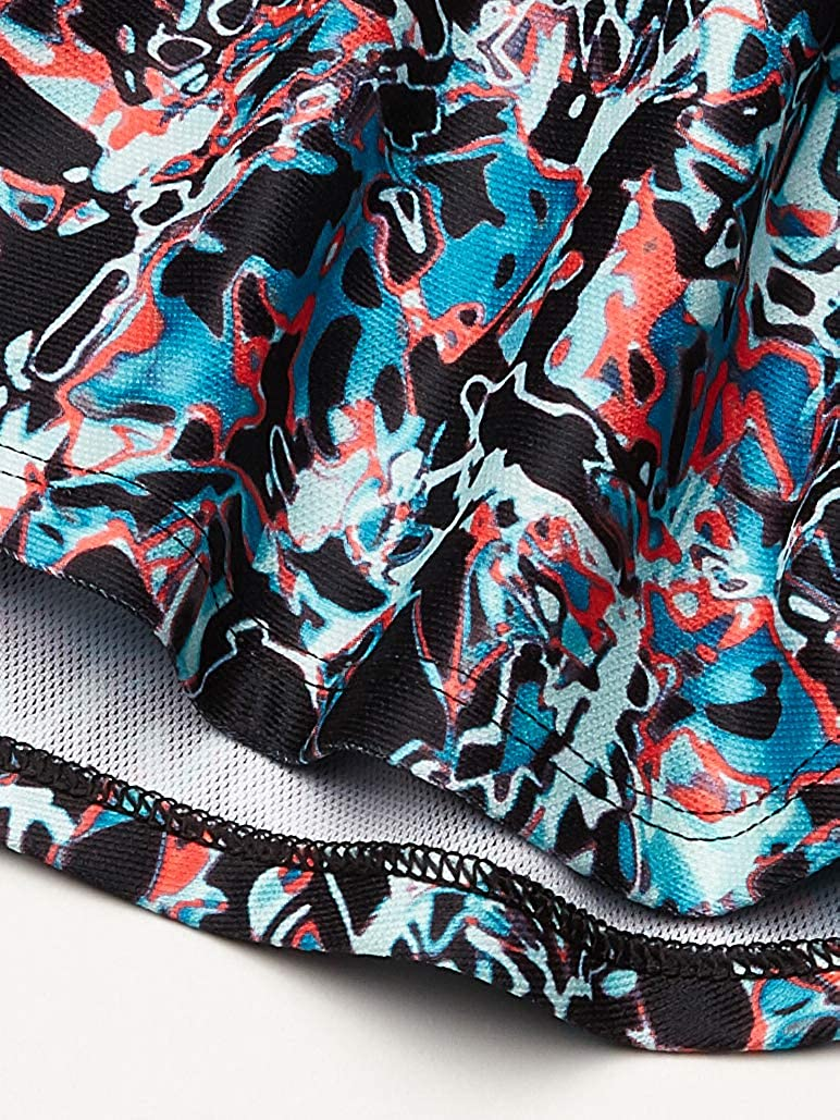 Under Armour Girls Play Up Printed Workout Gym Short Short