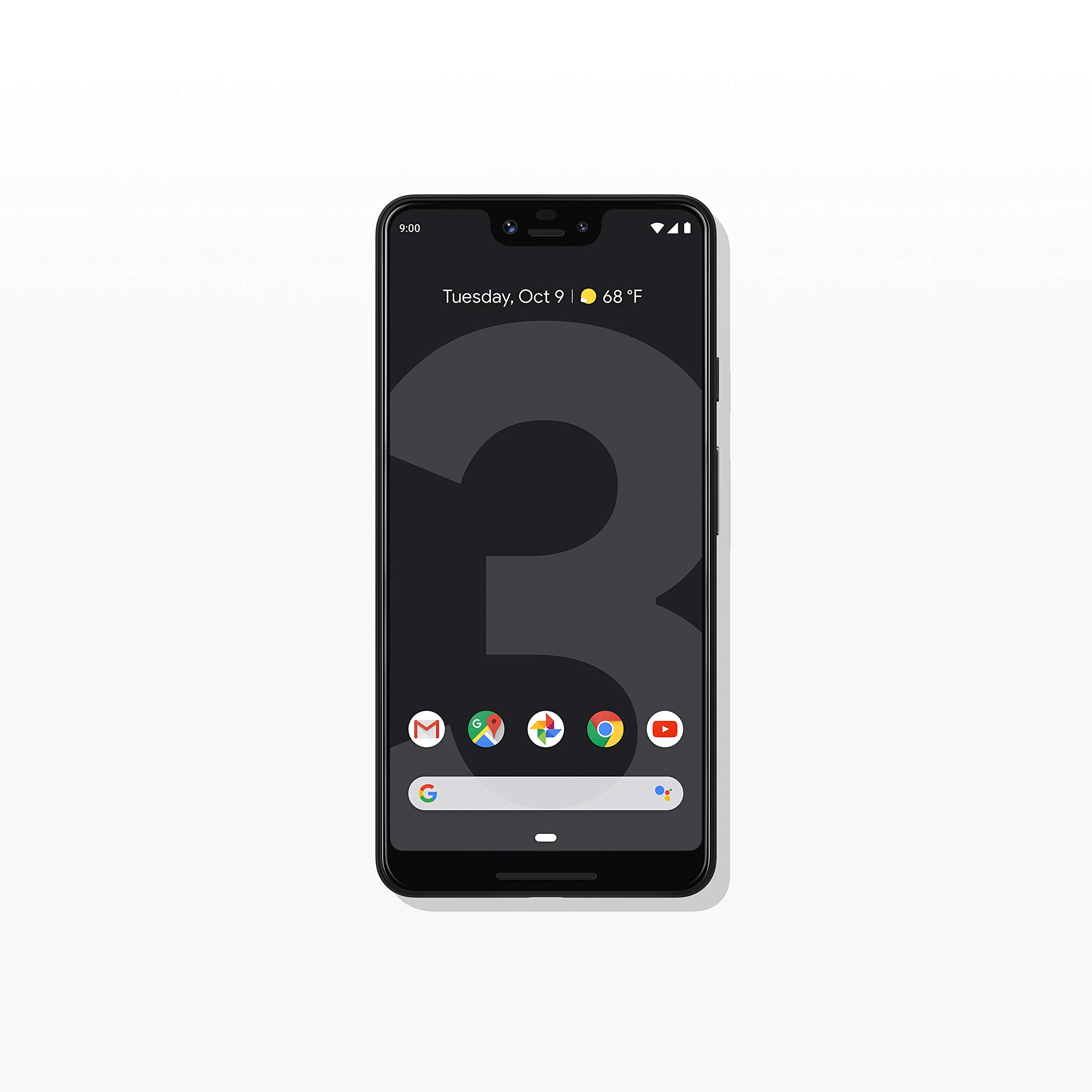 Google – Pixel 3 XL with 64GB Memory Cell Phone (Unlocked) – Just Black