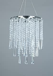 Amazon shopwildthings hanging chandelier decoration 24 by 9 flavorthings 3 tiers clear acrylic beaded hanging chandeliergreat idea for wedding chandeliers centerpieces decorations aloadofball Choice Image