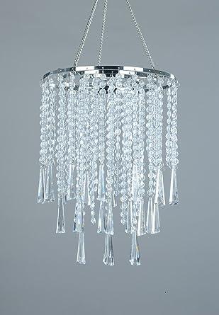 FlavorThings - Lámpara de araña de 3 niveles, 30 cm de alto ...