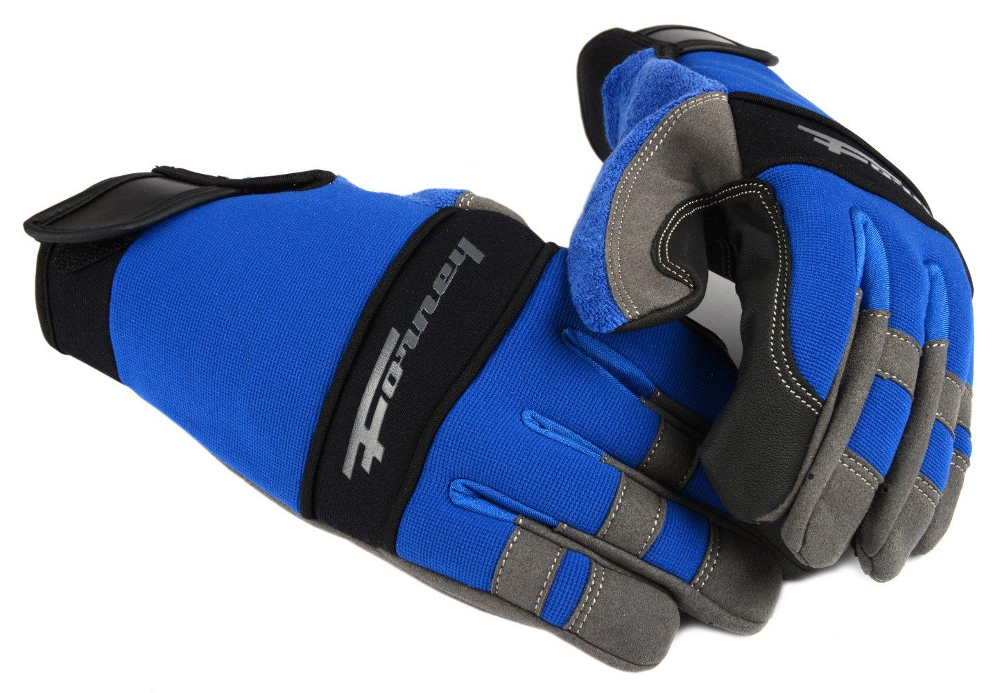 Forney 53014 Mechanic Premium Men's Gloves, Large