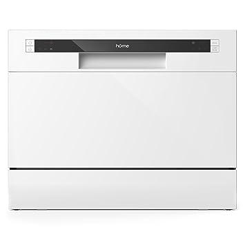Amazon.com: hOmeLabs Compact Countertop Dishwasher - Portable Mini ...
