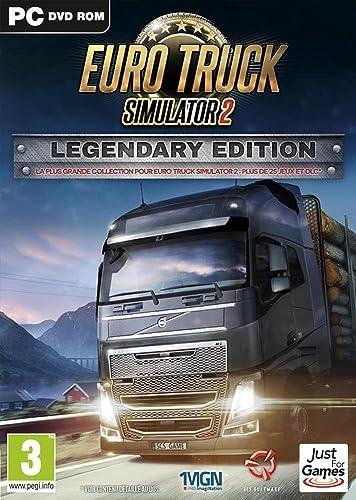 Euro Truck Simulator 2 - Édition Legendary [Importación Francesa]: Amazon.es: Videojuegos