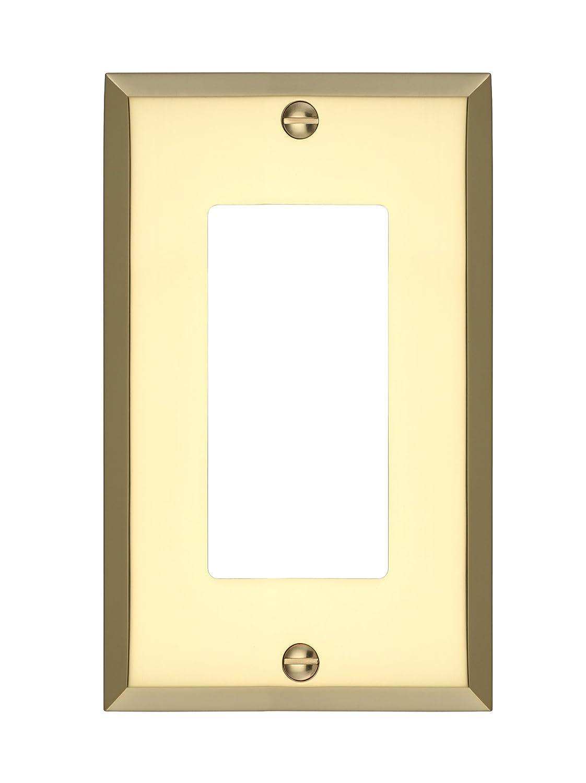 MAYKKE Graham Quad Rocker Light Switch Cover | Solid Brass 4 Gang ...