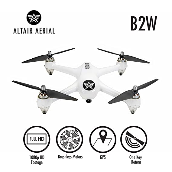Amazon Com Altair Outlaw Gps Drone With Camera Live Video 1080p