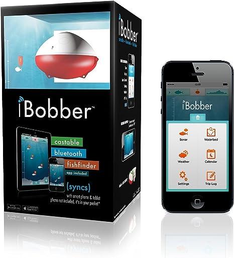 iBobber Castable Bluetooth - Sonda/Contador de Metros de Pesca, Color Blanco: Amazon.es: Deportes y aire libre