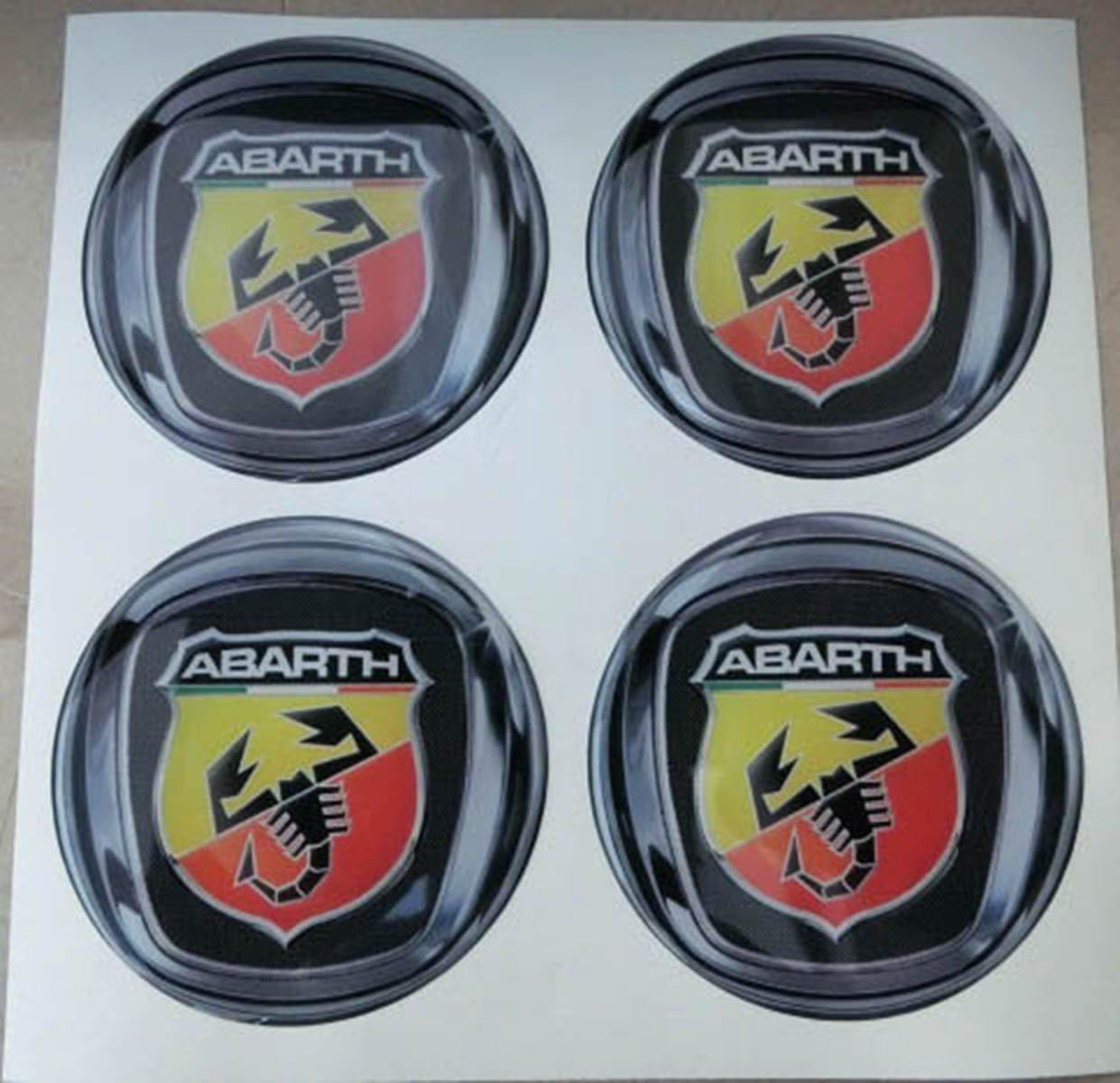 55 mm colori tuning effetto 3d 3m resinato coprimozzi borchie caps adesivi stickers per cerchi in lega x 4 pezzi