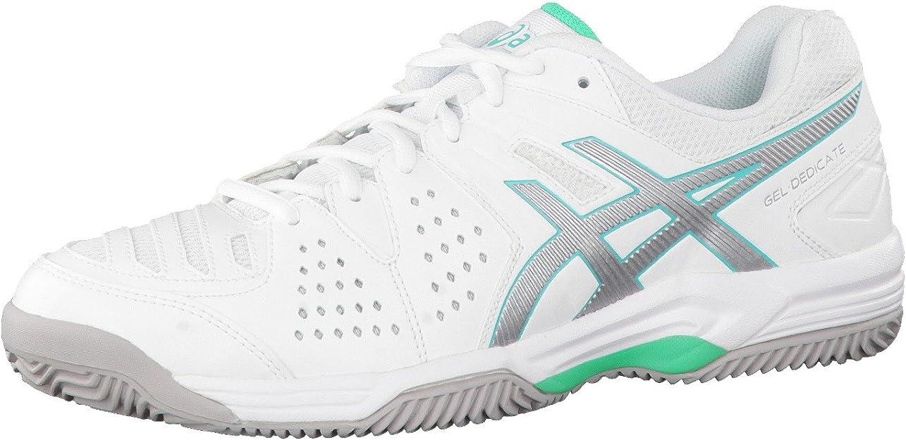 Asics Gel-Dedicate 4 Clay, Mujer Zapatillas de Tenis: Amazon.es: Deportes y aire libre