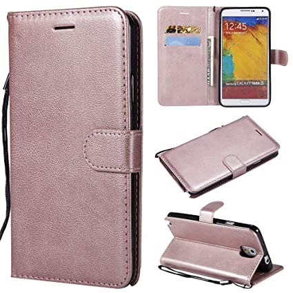 best loved 37eeb 6bec8 Amazon.com: Abtory Galaxy Note 3 Case, Flip PU Wallet Case with Card ...