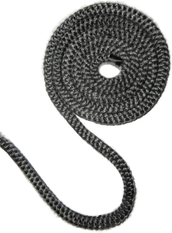 Sellado de cordón para estufas colour negro/antracita diferentes puntos fuertes, 10 mm