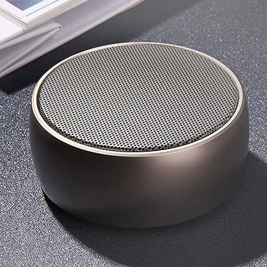 HL-01 altavoz Bluetooth estéreo portátil inalámbrico Mini reproductor de mp3 Música simplicidad AUX línea en tarjeta Micro SD para teléfono móvil Bluetooth ...