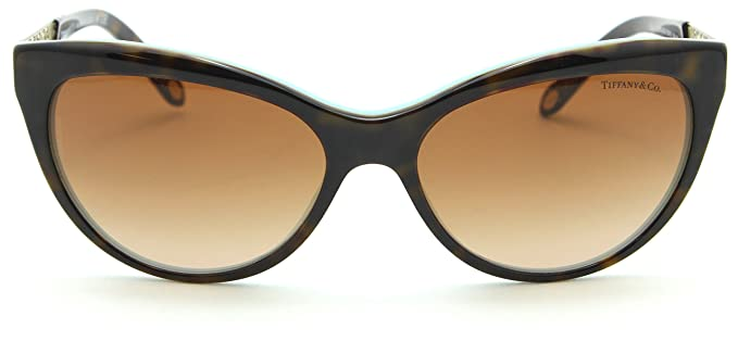 0410858dcc7b Image Unavailable. Image not available for. Color  Tiffany   Co. TF 4119 Womens  Cat-Eye Gradient Sunglasses 81343B