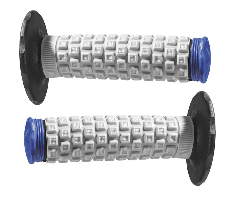Black Grey Blue Pro Taper Handlebar Hand Grips and Free Sticker Fits Yamaha Yz80 Yz85 Yz125 Yz250 Yz465 Yz490 Yz250f Yz450 Yz400 Yz426 Wr250 Wr450 Ttr125 Ttr230 Ttr90 Ttr110 Pw80 Rt100 Rt180 1981-2014 pt024852yz