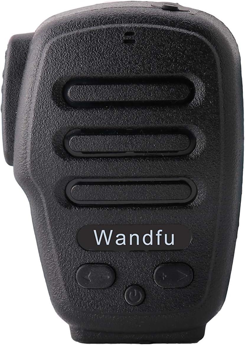 nextav h3-b inalámbrico Bluetooth PTT walkie Talkie Altavoz micrófono (para Android Certificado por Zello) y (para Zello iOS8, iOS9, ios10Probado por fábrica), Ropa Clip, Externa Auricular Jack