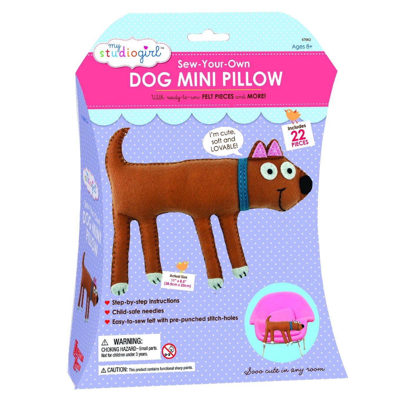 Dog University Games 67062 My Studio Girl Mini Pillows