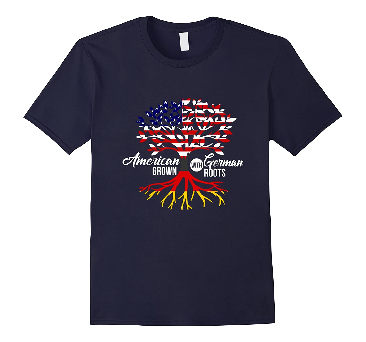 American Grown with German Roots T-Shirt - Germany Shirt-CD