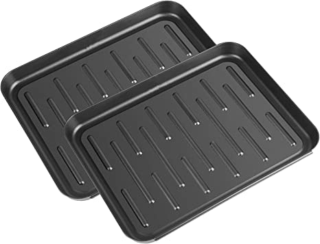 3 Pack Multi-Purpose Boot Mat Tray 13.7 x 11 inch Rubber shoe Dog Water Litter