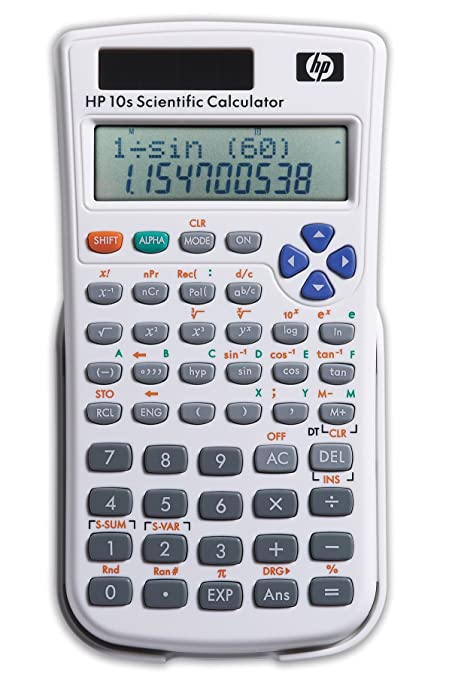 amazon com hp 10s scientific calculator f2214aa ak6 printing rh amazon com Calculadora Financeira HP 48GX Calculator