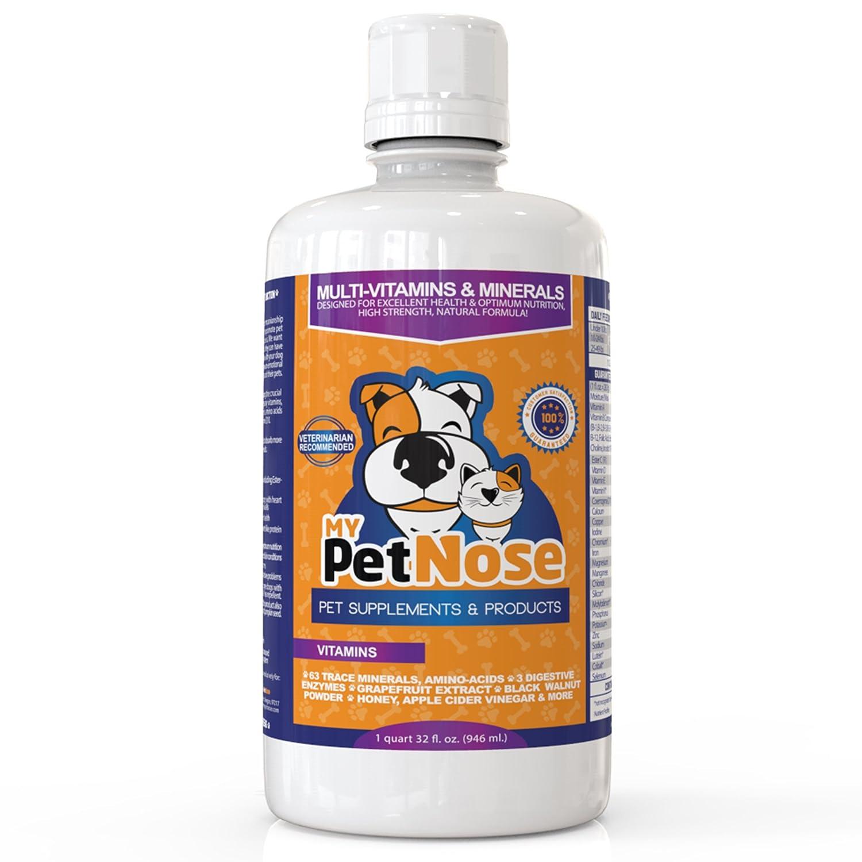 32 OZ Multivitamin Supplement 11 Vitamins 63 Minerals 3 Digestive Enzymes For Dogs Black Walnut Powder Honey & more