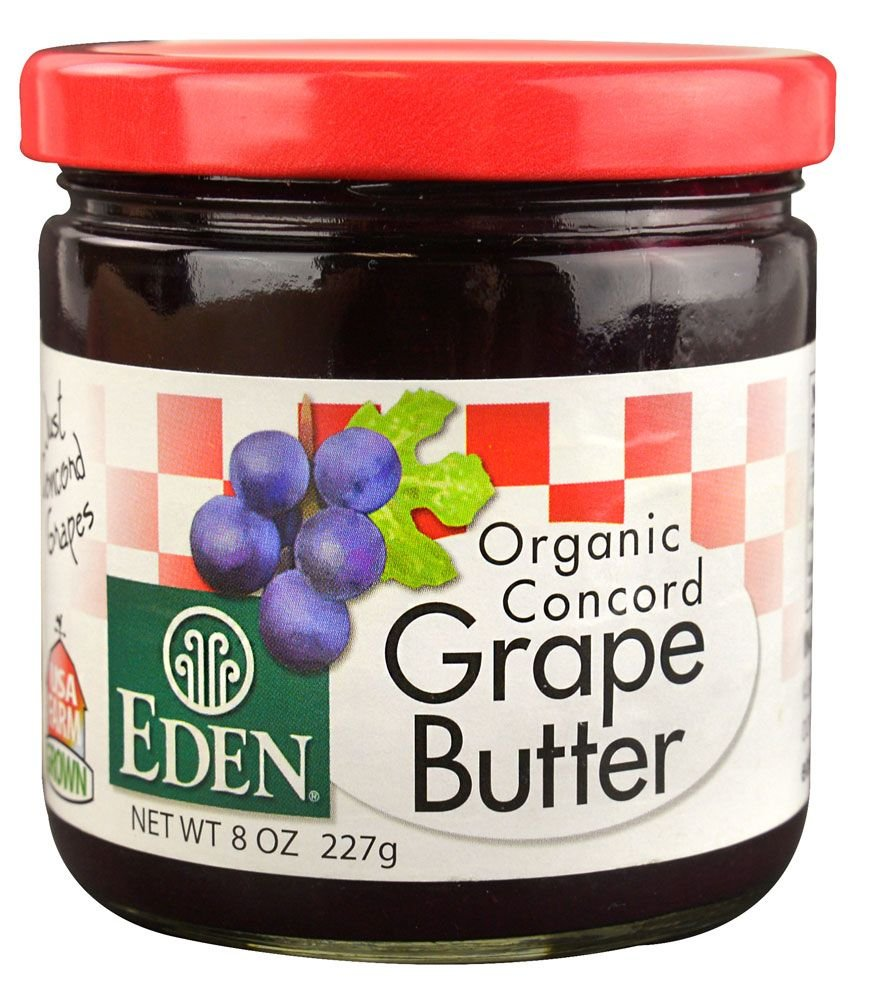 Eden Foods, Organic Concord Grape Butter, 8 oz