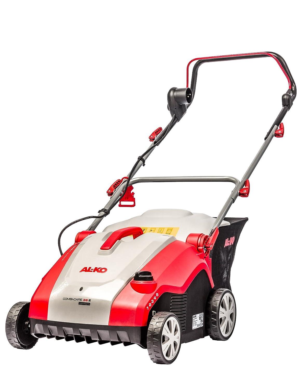 AL-KO Elektro-Vertikutierer Combi Care 36 E Comfort 36 cm Arbeitsbreite, 1500 W Motorleistung, f/ür Rasenfl/ächen bis 800 m/², Arbeitstiefe 5-fach verstellbar, inkl. Fangsack und L/üfterwalze