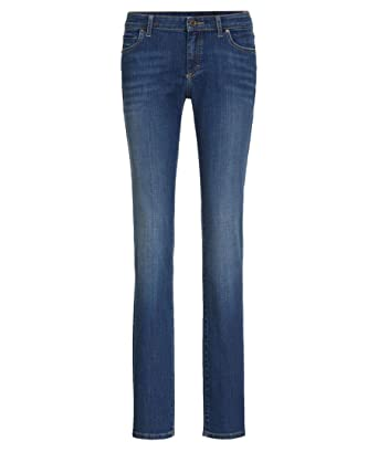 competitive price 0422c 9761b Marc O'Polo Damen Jeans Alby Straight Fit: Amazon.de: Bekleidung