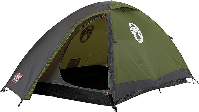 Coleman Darwin 2 Zelt, 2 Mann Campingzelt, einfach aufzubauen, 2 Personen Zelt für Trecking und Touren, wasserdicht WS 3.000 mm