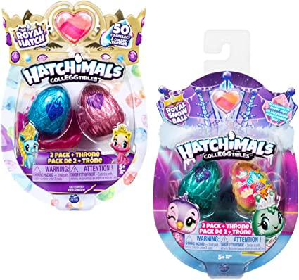 Hatchimals CollEGGtibles 2 Pack + Nest - Season 6 - Kits de ...