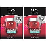 Olay Regenerist Micro-Sculpting Cream Fragrance Free 1.7 Oz (Pack of 2)