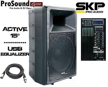 SKP Pro Audio SK-5PEQ - Bi Amplified Active Speaker
