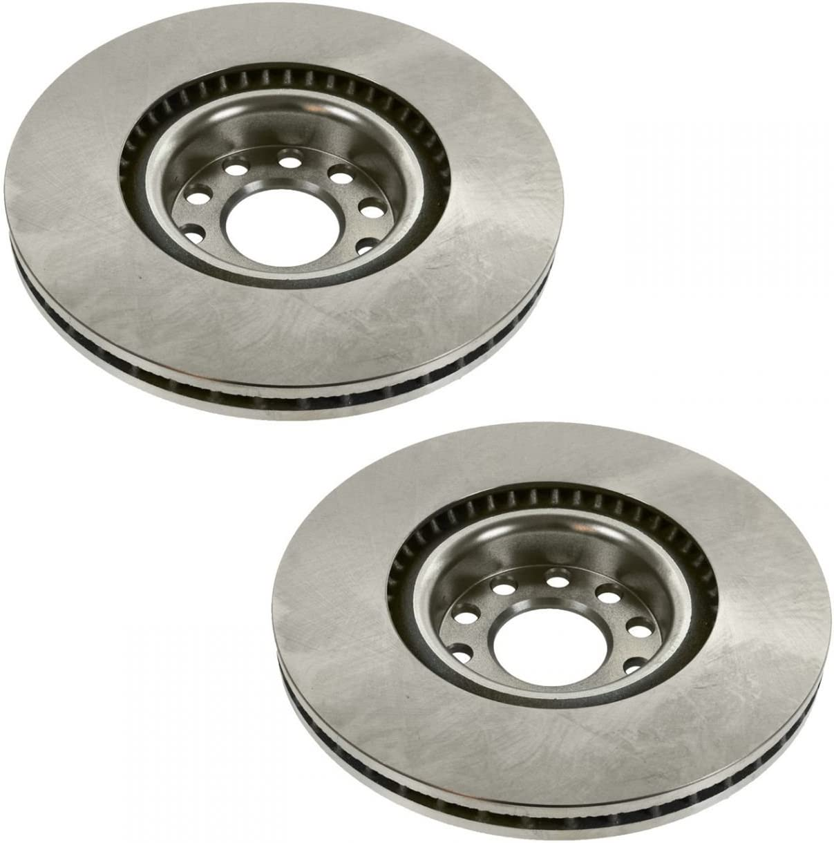 2005 for Audi A8 Quattro Front /& Rear Brake Rotors and Pads w//321mm Dia
