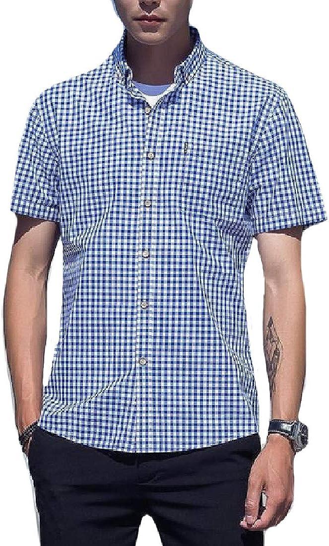 AngelSpace Men Original Fit Summer Regular-Fit Short-Sleeve Premium T-Shirts
