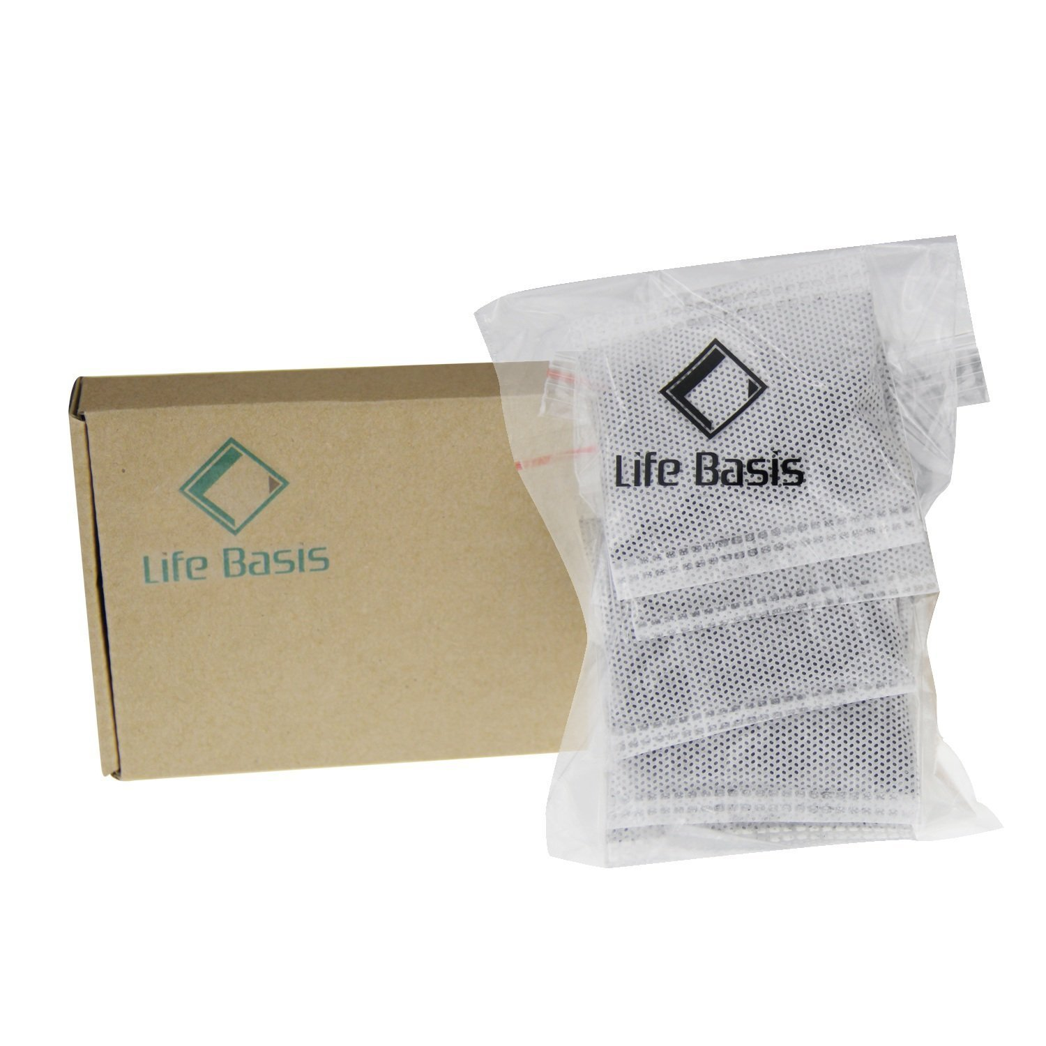Life Basis Distiller Carbon Filter Bags Activated Charcoal Filter for Water Distillers Pure Water (5 Pack)