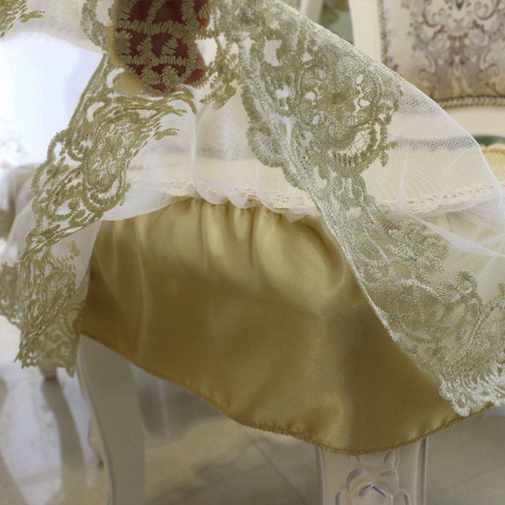 Ice Pad de Comedor Amortiguador de la Silla Fresco Fresco Silla Respirable de Encaje-A 52x50cm(20x20inch) 90c0d0