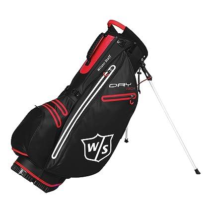 Amazon.com : Wilson Staff Dry Tech Stand Bag 2016 Black ...