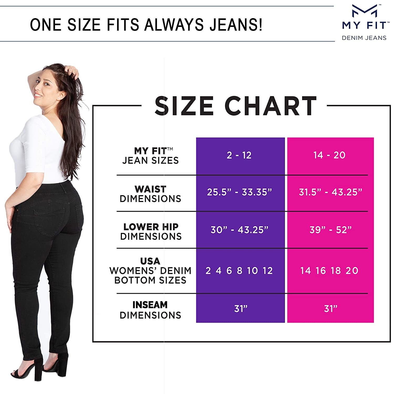 Women Ladies High Waist Skinny Jeans Jegging 6 8 10 12 14 16 18 20 22 Plus Size