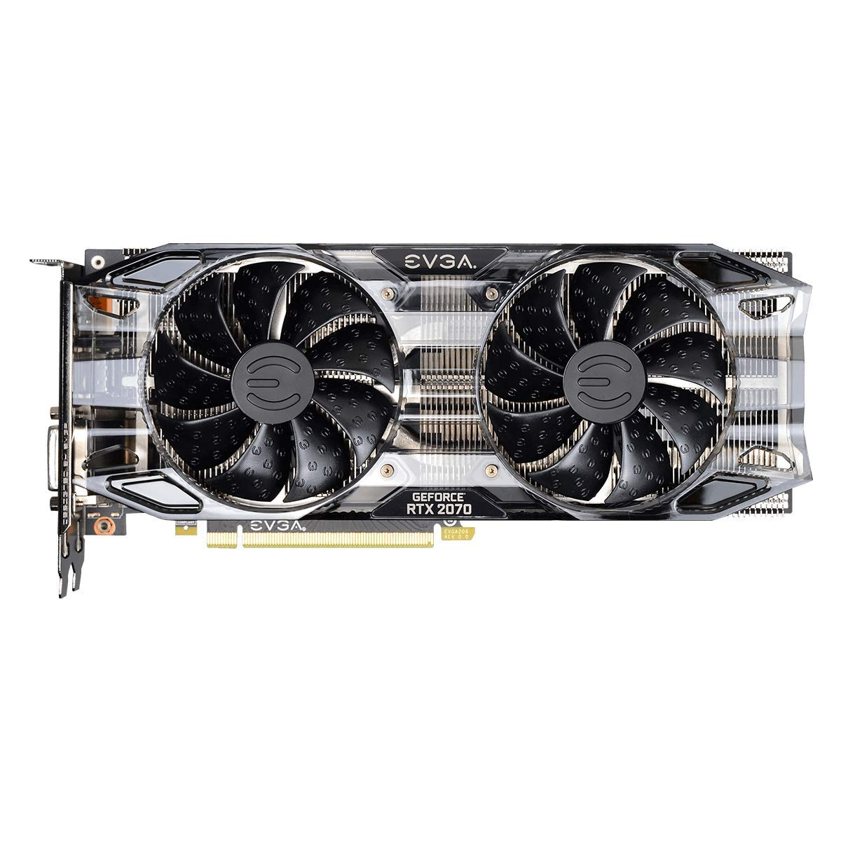 EVGA GeForce RTX 2070 Black Gaming,8GB GDDR6, Dual HDB Fans Graphics Card 08G-P4-1071-KR by EVGA (Image #3)
