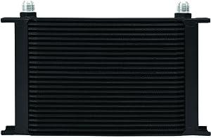 Mishimoto Universal 25-Row Oil Cooler, Black