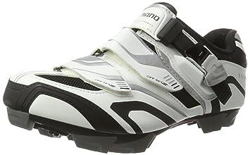 Shimano Zapatilla MTB SPD SH-XC 50 T. 40, blanco/negro: Amazon.es: Deportes y aire libre