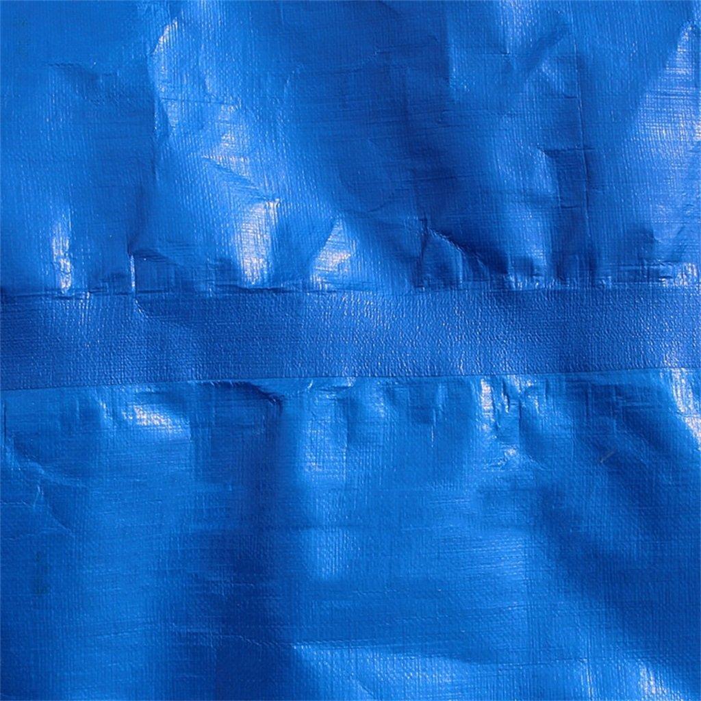 CAOYU Plane PE Verdickung im im Verdickung Freien Regen Sonnencreme Sonnenschirm wasserdicht Plane Auto Wagen Plane, blau 6e2a7a