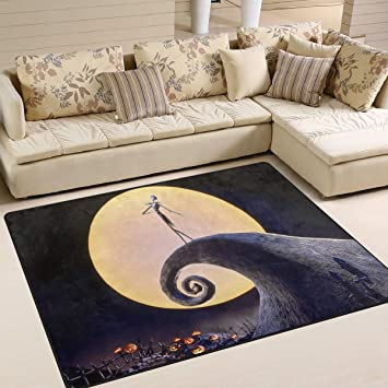 Amazon Com The Nightmare Before Christmas Area Rug Rugs Dining Room