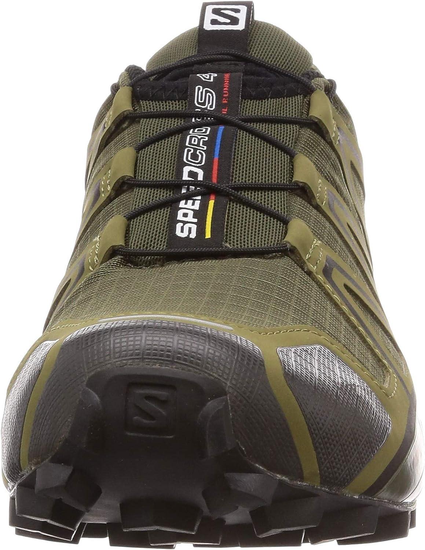 Salomon Men's Speedcross 4 Trail Running Shoes Grape Leaf/Burnt Olive/Black