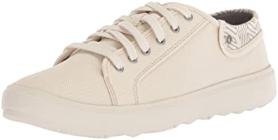 Merrell Around Town City Lace Canvas, Baskets Femme, Blanc (Whitecap), 37.5 EU