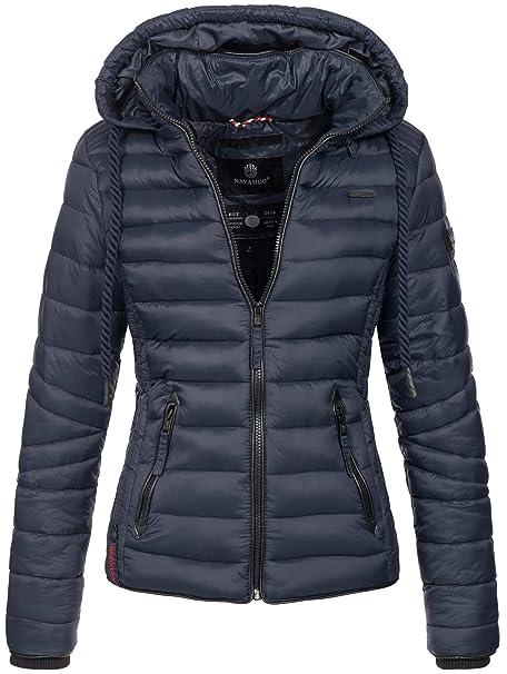 new style fb8f4 bf9b9 Navahoo Damen Jacke Steppjacke Übergangsjacke gesteppt Stepp Frühjahr B650